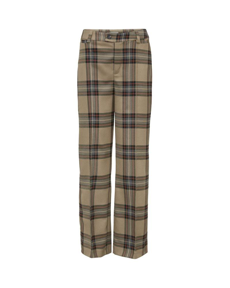 NORR Karen pants - Brown Check