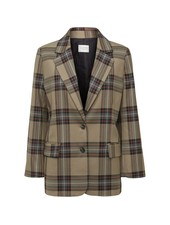 NORR Karen Blazer - Brown Check