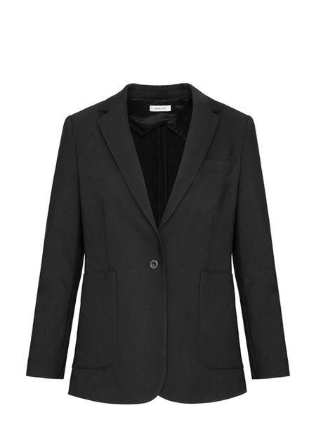Anine Bing Schoolboy blazer - Black