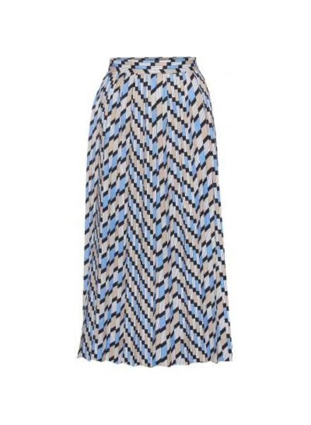 NORR Aubrey skirt - Blue Print