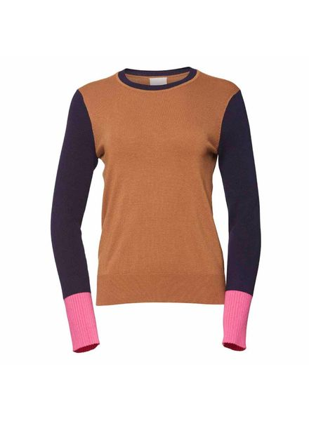 Julie Fagerholt Kyrit sweater - Camel