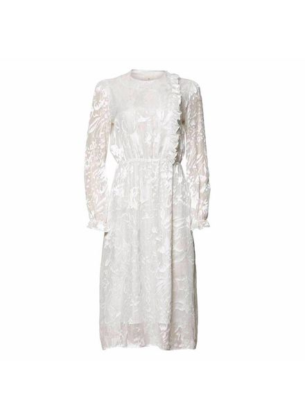 Julie Fagerholt Havin Dress - Off-White
