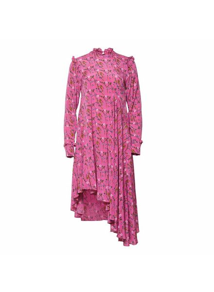 Julie Fagerholt Haya Dress - Pink Print