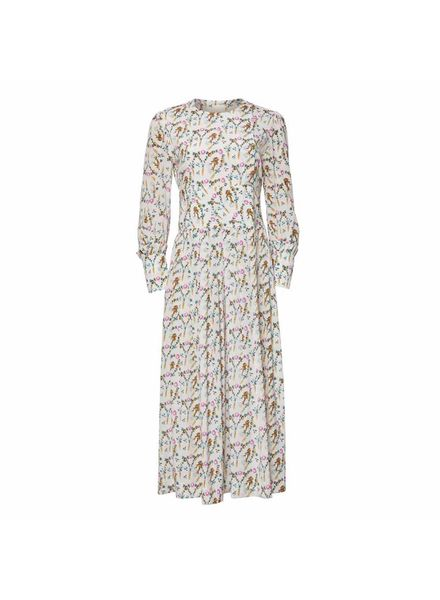Julie Fagerholt Henka Dress - Off-White Print