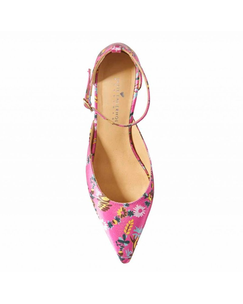 Julie Fagerholt Doma Shoes - Pink Print