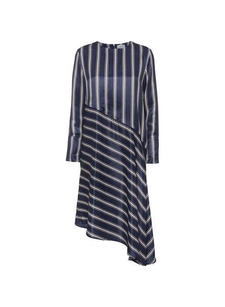 NORR Bobbi dress - Navy Stripe