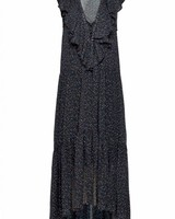 Magali Pascal Illia Maxi Dress - Tulip Off Black