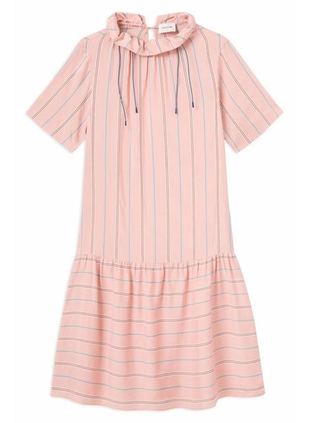 Wood Wood Delphine dress - Light Rose Stripe