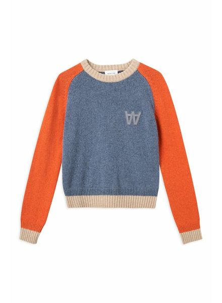 Wood Wood Asta sweater - Dusty Blue