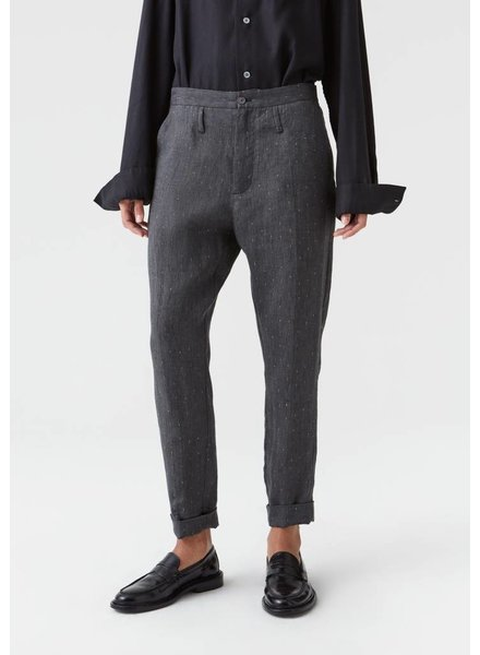 Hope Law trousers - Black Stripe