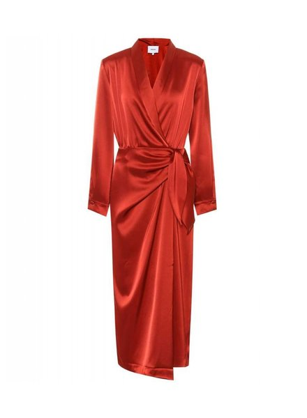 Nanushka Ezra dress - Red
