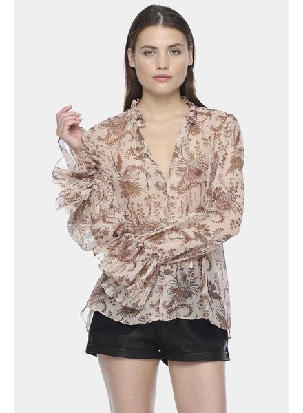 Magali Pascal Opium shirt - Nude Valence