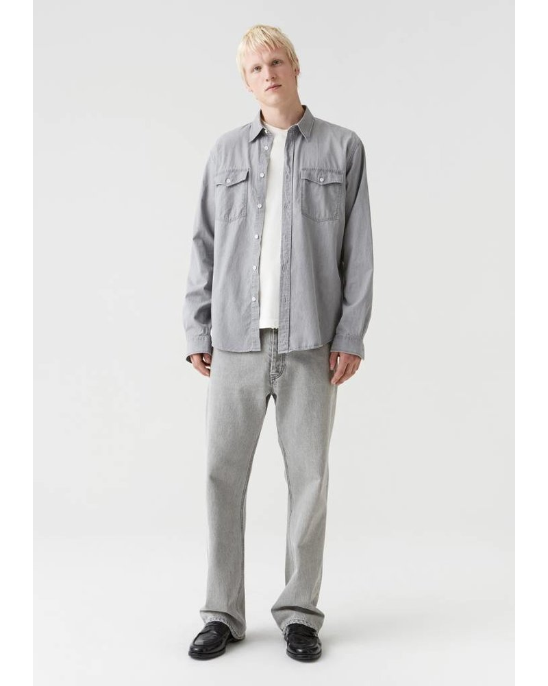 Hope Drift shirt - Lt Grey denim