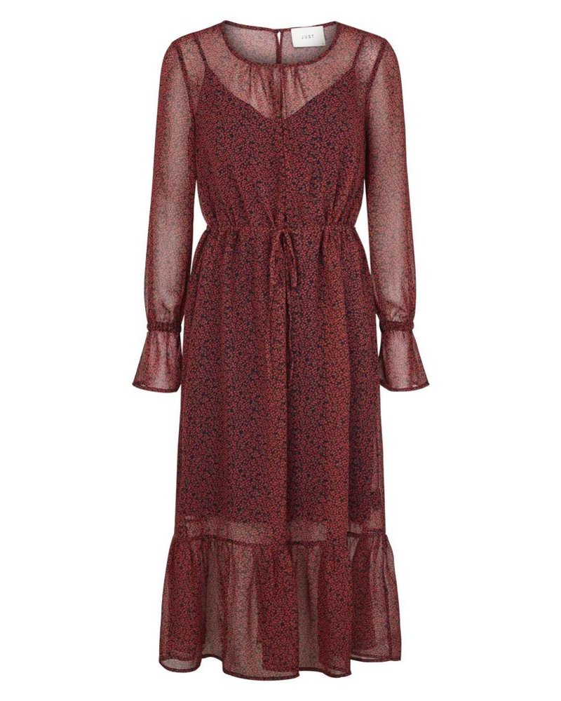 Just Female Cherry maxi dress - Cherry aop