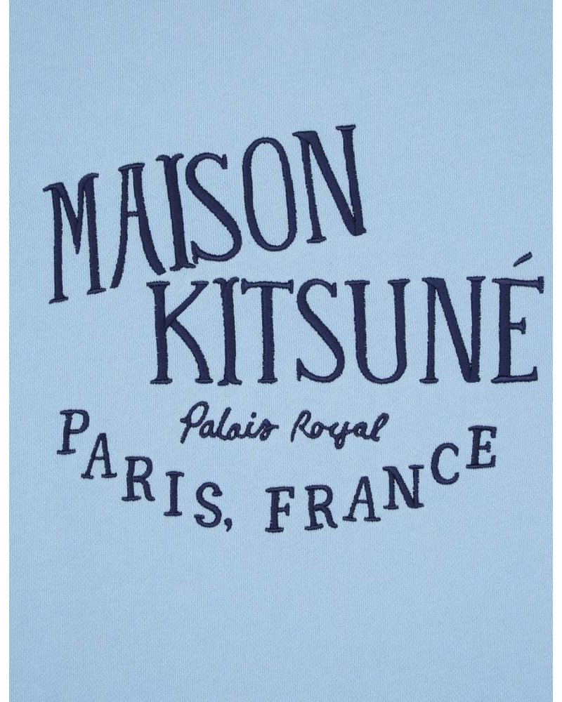 Maison Kitsuné Sweatshirt Palais Royal - Light Blue