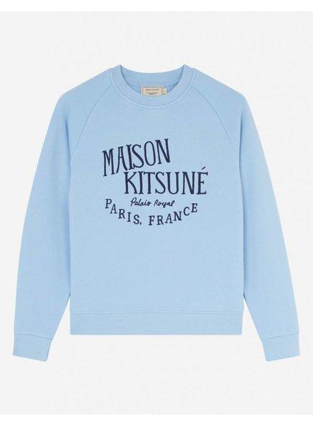 Maison Kitsuné Sweatshirt Palais Royal - Light Blue