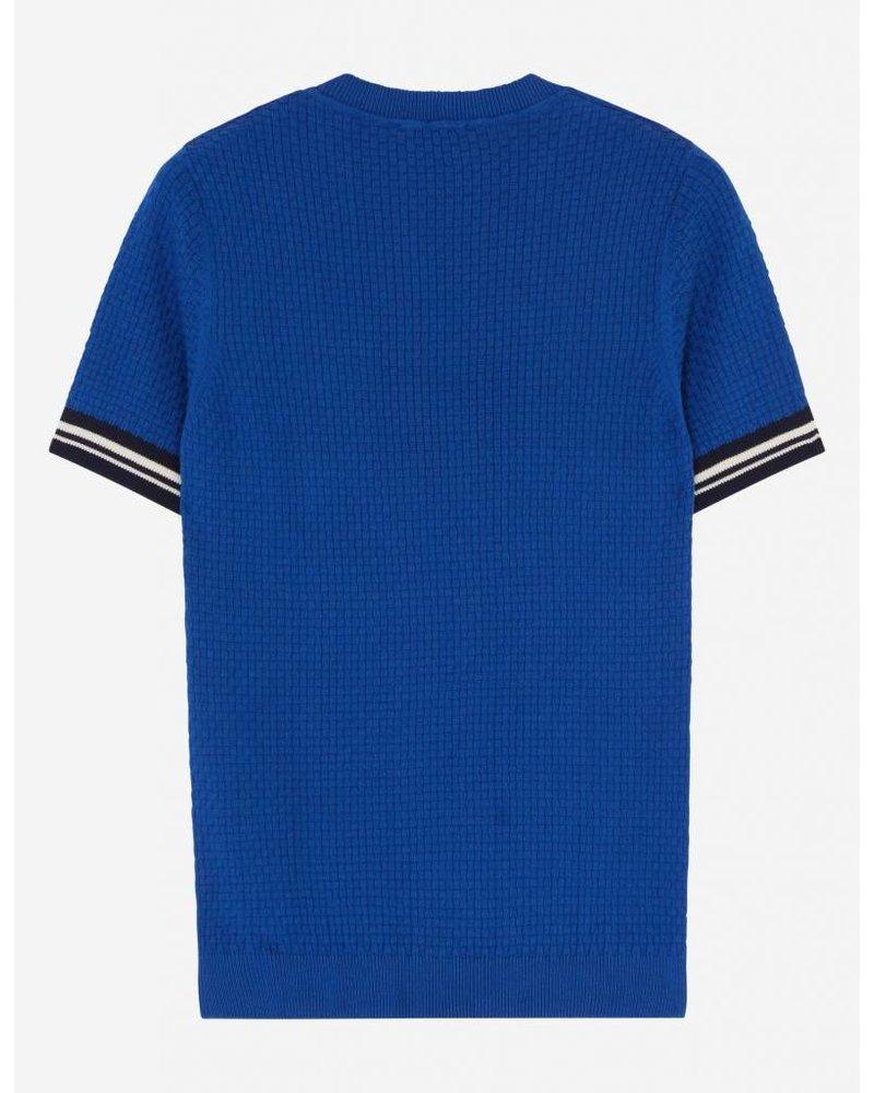 Maison Kitsuné Short Sleeves Pullover - Blue
