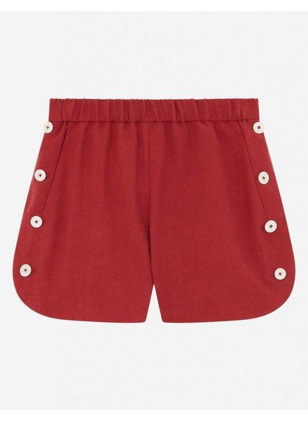 Maison Kitsuné Vittoria Elastic Short - Red