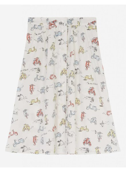 Maison Kitsuné Scooter Skirt - Multi