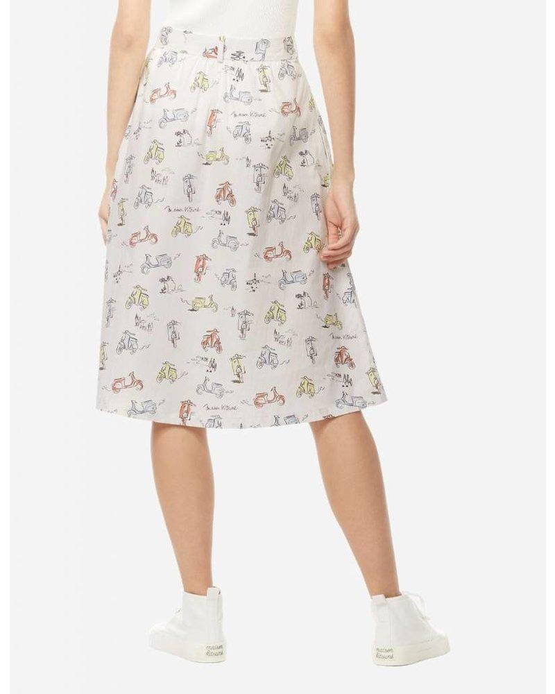 Maison Kitsuné Scooter Skirt - Multi