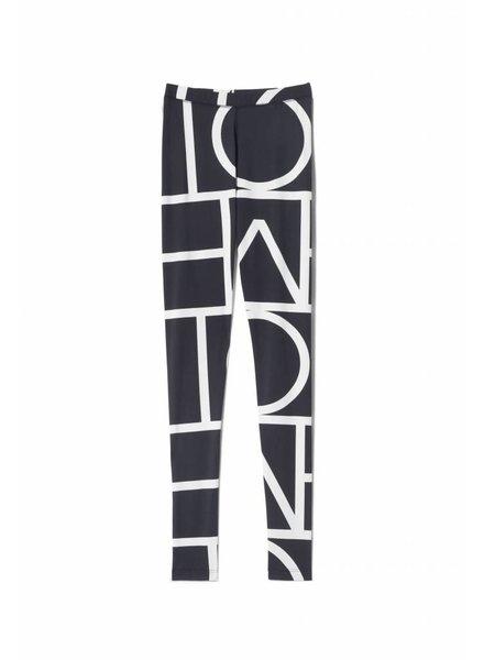 Totême Leon Tights - Negative Monogram