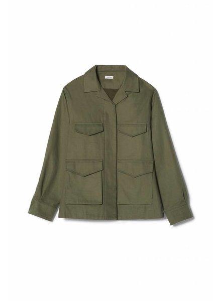 Totême Avignon Jacket - Olive