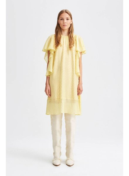 Rodebjer Olivia metalic - Light Yellow