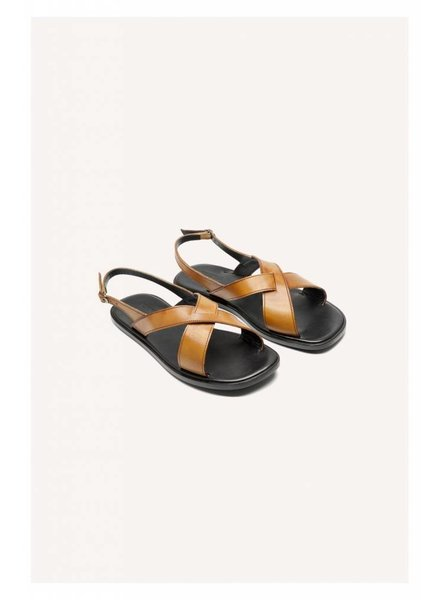 Valentine Gauthier Houston sandal - Cognac