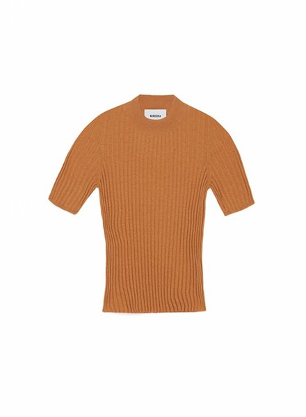Nanushka Ange knit - Burnt Orange