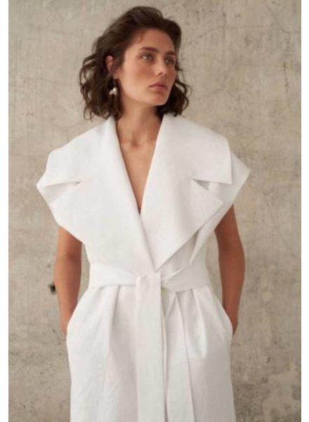 Le Brand Nicole vest - White