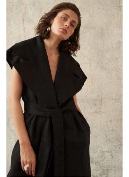 Le Brand Nicole vest - Black