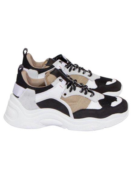 Iro Curve-raw sneaker - Black/Gold
