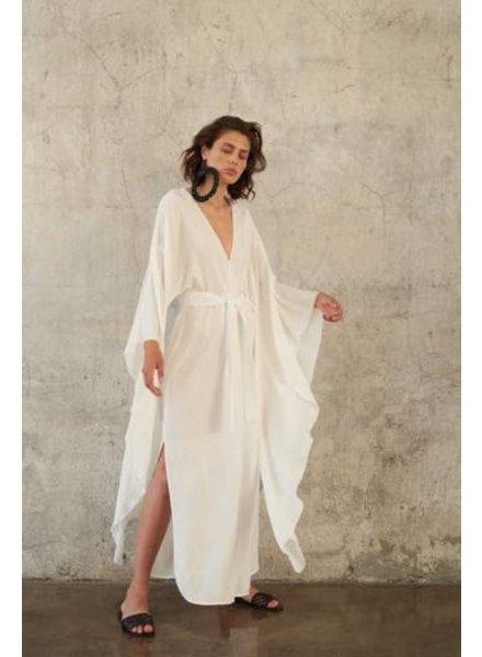 Le Brand Maxi Anita dress - White