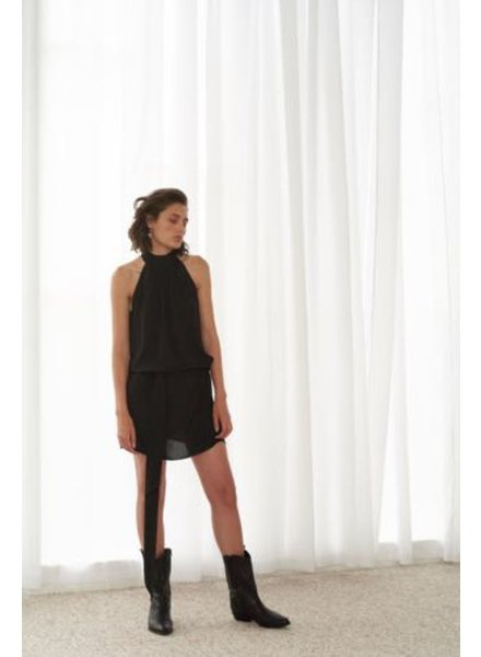 Le Brand Retro dress - Black