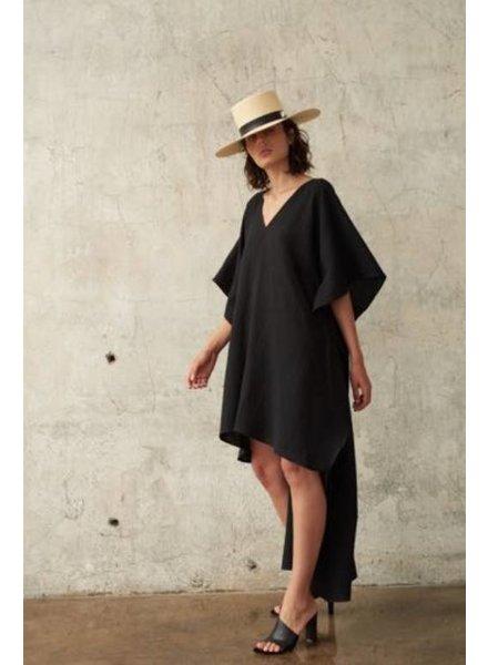 Le Brand Asymetric dress - Black