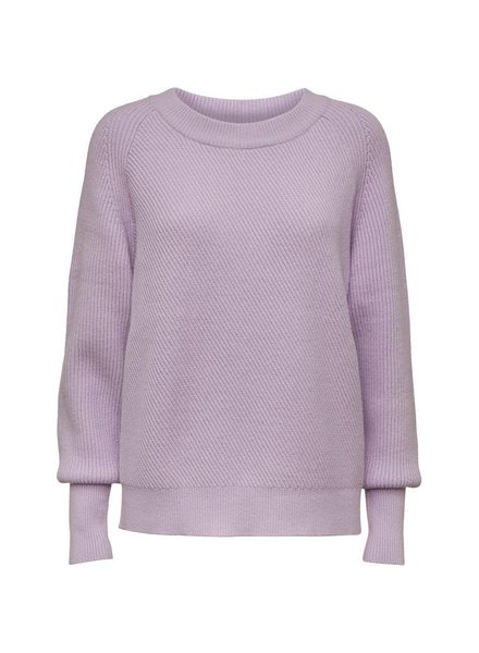 NORR Kameron knit top - Light lilac