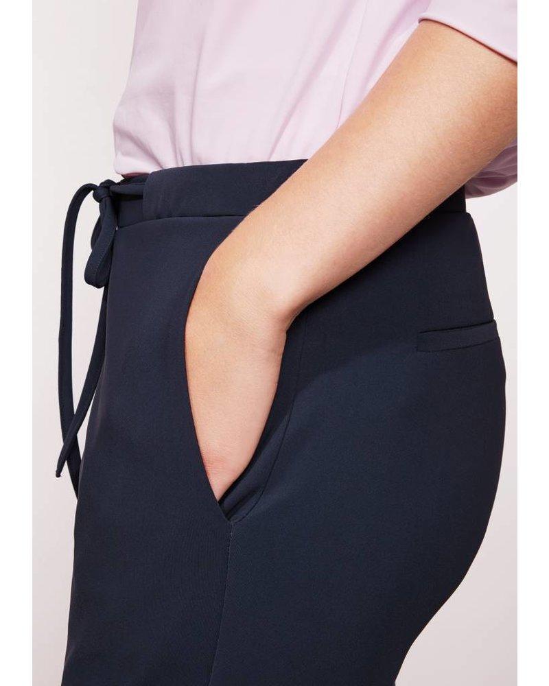 StudioRuig Bries trousers - Heavy jersey Blue