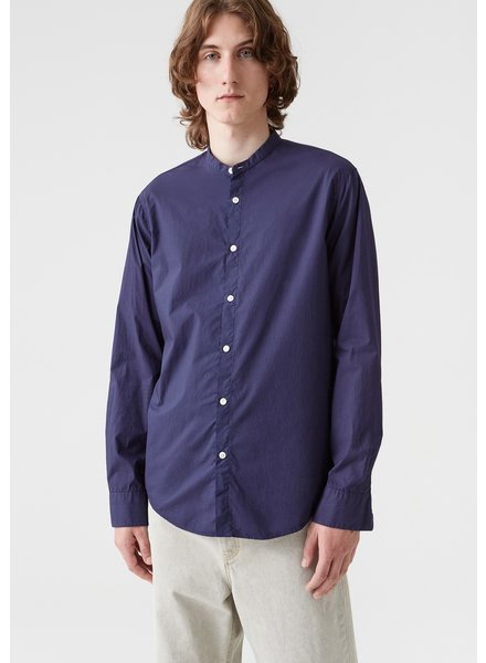 Hope Collar Shirt - Dk Blue