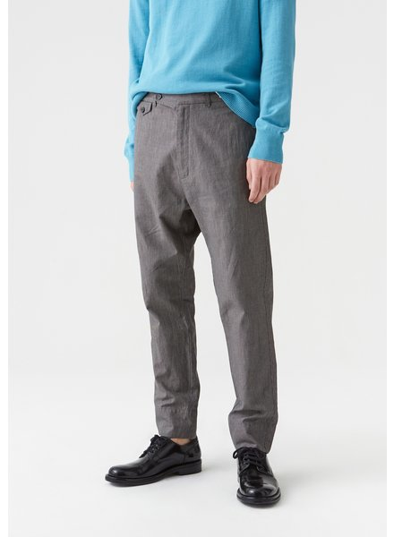 Hope Edwin Trouser - Grey Dogtooth - size 44, 50