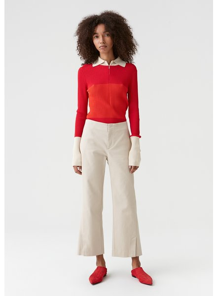 Hope Crop Trouser - Sand
