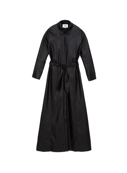Nanushka Taurus dress - Black