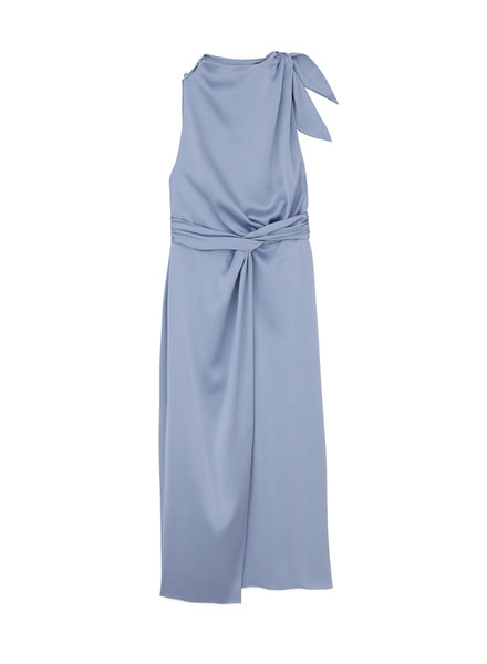 Nanushka Kalila dress - Ice Blue