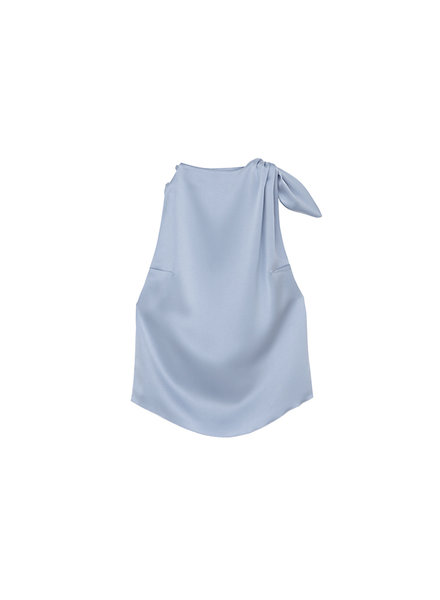 Nanushka Avalon top - Ice Blue
