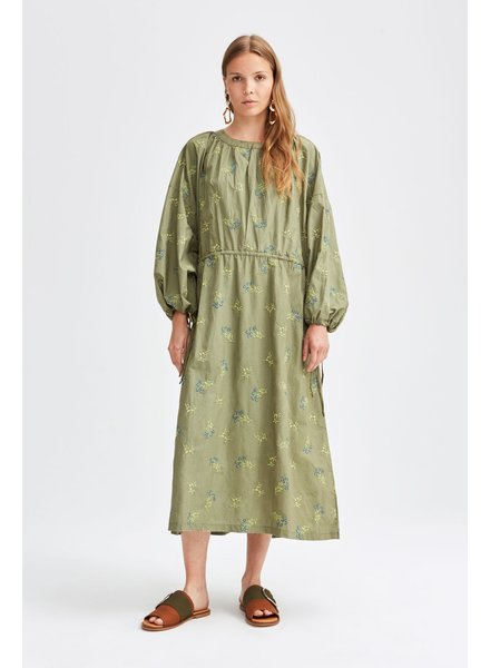 Rodebjer Assi dress - Green Safari