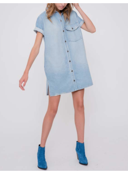 Margaux Lonnberg Dean dress - Light Blue
