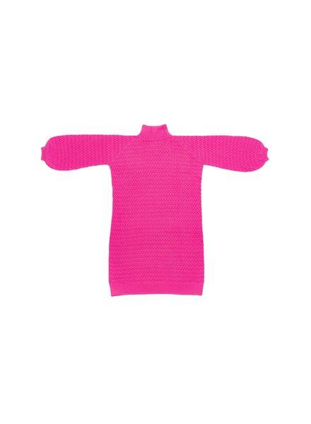 I Love Mr Mittens Lace Maxi Dress Cotton - Bubble Gum