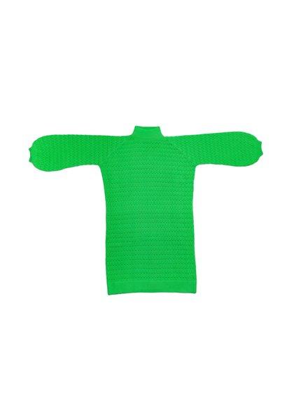 I Love Mr Mittens Lace Maxi Dress Cotton - Greenery