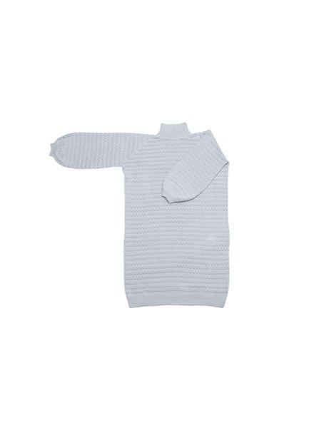 I Love Mr Mittens Lace Maxi Dress Cotton - Denim