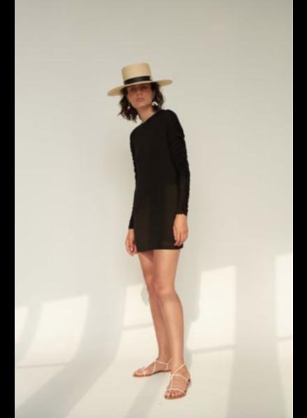 Le Brand Longsleeve dress - Black