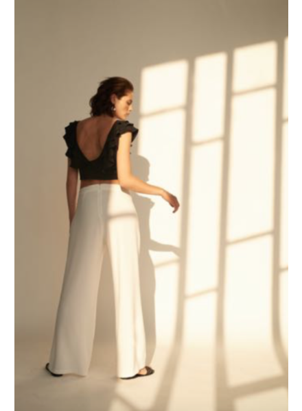 Le Brand Palazzo pants - White